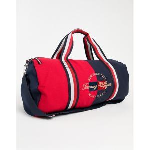トミー ヒルフィガー メンズ ボストンバッグ バッグ Tommy Hilfiger bailey duffle bag Haute red/navy blaze|astyshop