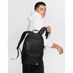 ナイキ メンズ バックパック・リュックサック バッグ Nike Air Heritage backpack in black Black astyshop