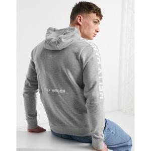ヘリーハンセン メンズ パーカー・スウェットシャツ アウター Helly Hansen Active hoodie in gray Gray melange astyshop