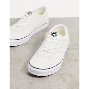 バンズ レディース スニーカー シューズ Vans Sport sneakers in white (suede) white astyshop