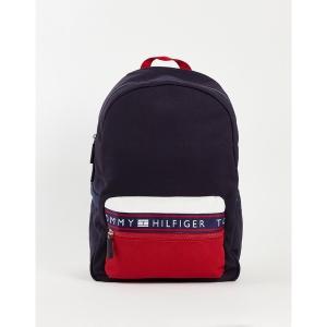 トミー ヒルフィガー メンズ バックパック・リュックサック バッグ Tommy Hilfiger hayes backpack Navy/red/white|astyshop