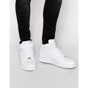 ナイキ メンズ スニーカー シューズ Nike Air Force 1 Mid '07 Sneakers In White 315123-111 White astyshop