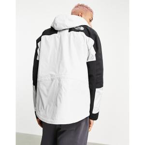 ノースフェイス メンズ ジャケット&ブルゾン アウター The North Face Karakoram Dryvent jacket in white Tin gray astyshop