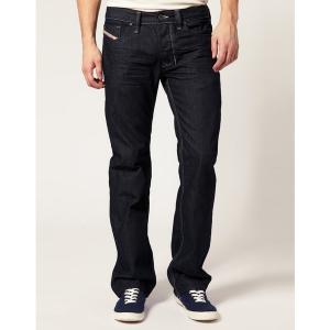 ディーゼル メンズ デニム ボトムス Diesel Larkee 88Z Straight Jeans Raw|astyshop