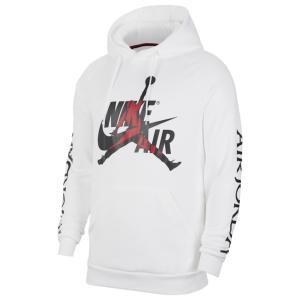 ジョーダン パーカー・スウェットシャツ メンズ アウター Jumpman Classics Fleece Hoodie White/Black|astyshop