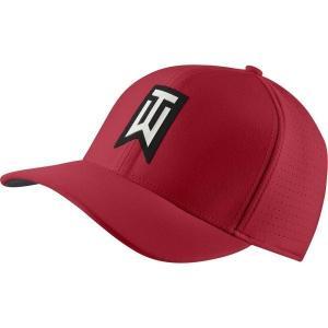 【当日出荷】 ナイキ メンズ Nike Men's AeroBill TW Classic99 Golf Hat GymRedAnthraciteBlack 【サイズ S-M】|astyshop