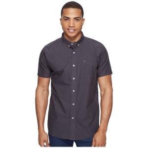 【当日出荷】 リップカール メンズ Ourtime Short Sleeve Shirt Charcoal  【サイズ S】|astyshop