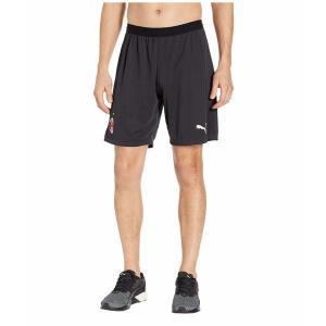 【当日出荷】 プーマ メンズ AC Milan Replica Shorts Puma Black/Puma White 【サイズ XL】|astyshop