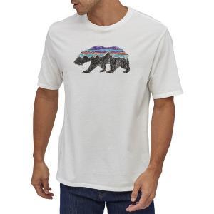 【当日出荷】 パタゴニア メンズ Patagonia Men's Fitz Roy Bear Organic Cotton T-Shirt White 【サイズ M】 astyshop