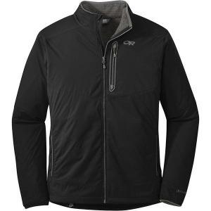 【当日出荷】 アウトドアリサーチ メンズ Outdoor Research Men's Ascendant Jacket Black / Pewter 【サイズ XL】|astyshop