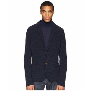 【当日出荷】 イレブンティ メンズ Two-Button Sweater Jacket Navy  【サイズ LG】|astyshop