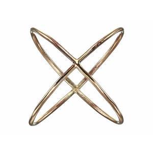【当日出荷】 エイブル アクセサリー レディース X Ring Gold サイズ 9】|astyshop