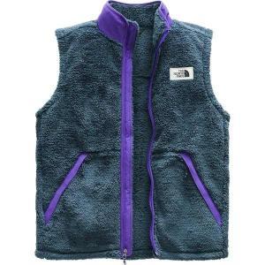 【当日出荷】 ノースフェイス メンズ Campshire Fleece Vest - Men's Shady Blue/Deep Blue 【サイズ XXL】|astyshop