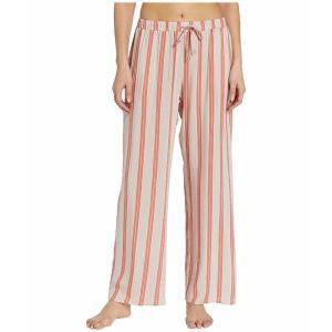 【当日出荷】 ハンロ レディース Sleep & Lounge Woven Long Pants Ceramic Stripe 【サイズ S】 astyshop