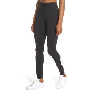 【当日出荷】 ナイキ レディース Nike Sportswear Leg-A-See Futura Leggings Black/ White 【サイズ M】 astyshop