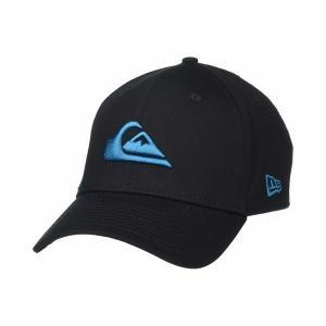 【当日出荷】 クイックシルバー メンズ Mountain and Wave Hat Fjord Blue 【サイズ S-M】|astyshop