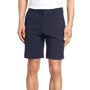 ザッカリープレル ハーフ メンズ Zachary Prell Costa Cotton Blend Shorts Navy【サイズ 30】|astyshop