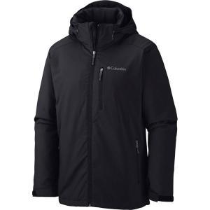 【当日出荷】 コロンビア メンズ Columbia Men's Gate Racer Softshell Jacket Black 【サイズ L】|astyshop