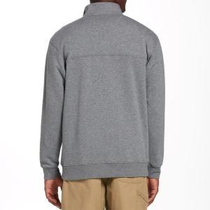 【当日出荷】 コロンビア メンズ Columbia Men's Hart Mountain Half Zip Pullover CharcoalHeather 【サイズ XL】|astyshop