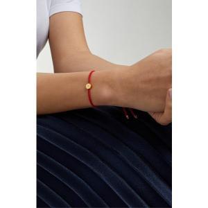 【当日出荷】 モニカヴィナダー レディース Monica Vinader Linear Solo Diamond Friendship Bracelet Gold/ Coral 【サイズ One-Size】 astyshop