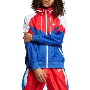 【当日出荷】 ナイキ メンズ Nike Winderunner Jacket Indigo Force/ University Red  【サイズ S】|astyshop