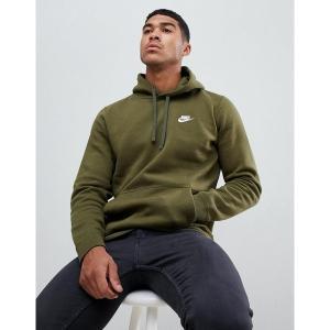 【当日出荷】 ナイキ メンズ Nike Club Swoosh Pullover Hoodie In Green 804346-395 Green  【サイズ XL】|astyshop