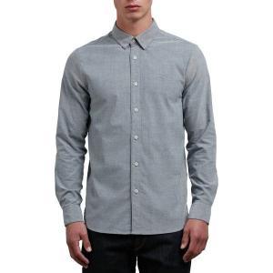 【当日出荷】 ボルコム メンズ Oxford Stretch Shirt - Men's Black 【サイズ medium】|astyshop