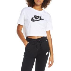 【当日出荷】 ナイキ レディース Nike Sportswear Essential Crop Tee 【サイズ medium】 astyshop