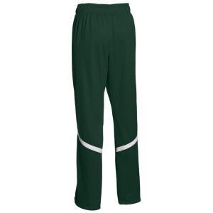 【当日出荷】 アンダーアーマー レディース Team Qualifier WarmUp Pants Forest Green/White 【サイズ XS】 astyshop