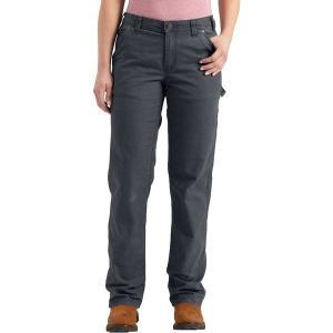 【当日出荷】 カーハート レディース Carhartt Women's Original Fit Crawford Pants Coal 【サイズ 6Regular】 astyshop