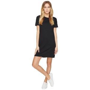 【当日出荷】 オルタナティヴ レディース Straight Up Cotton Modal T-Shirt Dress Black 【サイズ S】 astyshop