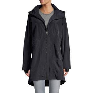 【当日出荷】 カルバンクライン レディース Stretch Hooded Jacket Black 【サイズ M】|astyshop