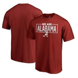【当日出荷】 ファナティクス メンズ Alabama Crimson Tide Fanatics Branded We Are Icon TShirt Crimson 【サイズ L】 astyshop