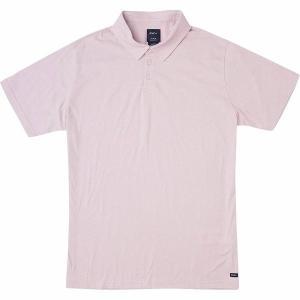 【当日出荷】 ルーカ メンズ Sure Thing II Polo Shirt - Men's Dusty Blush 【サイズ L】|astyshop