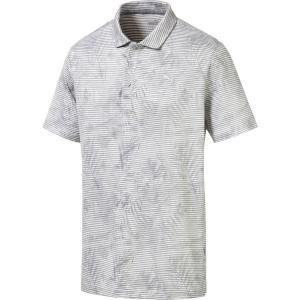 【当日出荷】 プーマ メンズ PUMA Men's Fronds Golf Polo Quarry 【サイズ L】|astyshop