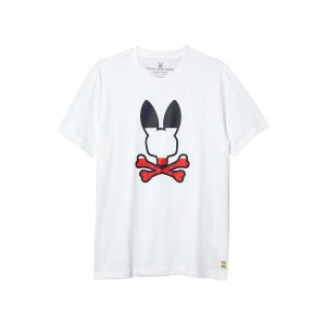 【当日出荷】 サイコバニー トップス メンズ Victory T-Shirt White サイズ 9】|astyshop
