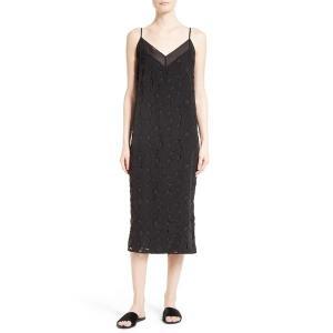 【即日出荷】エキプモン ワンピース レディース Equipment Dian Silk Lace Slipdress True Black 【サイズ S】 astyshop