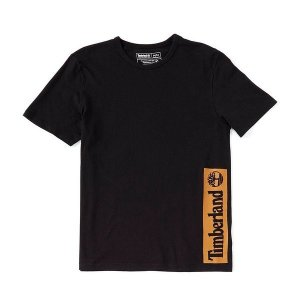 【当日出荷】 ティンバーランド メンズ Established 1973 Block Logo Short-Sleeve  【サイズ L】|astyshop