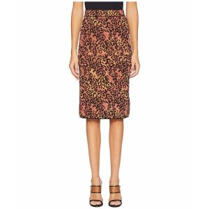 【当日出荷】 エム ミッソーニ レディース Animal Lurex Skirt Brown 【サイズ 46】 astyshop