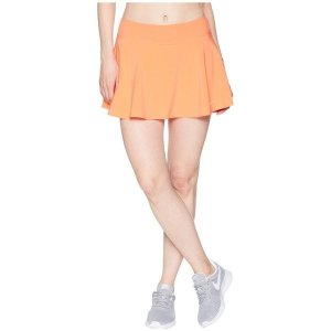 【当日出荷】 ナイキ レディース Nike Court Flex Pure Tennis Skirt Light Wild Mango/White 【サイズ S】 astyshop