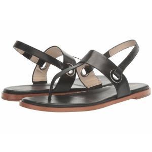 【当日出荷】 コールハーン レディース Anera Sandal Black Leather 【サイズ 25cm】|astyshop