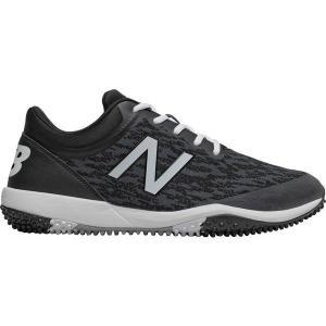 【当日出荷】 ニューバランス メンズ 野球 New Balance Men's 4040 v5 Turf Baseball Cleats Black/White 【サイズ 26cm】|astyshop