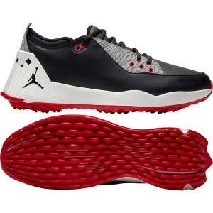 【当日出荷】 ナイキ メンズ ゴルフ Jordan Men's ADG 2 Golf Shoes Black/University Red 【サイズ 26.5cm】|astyshop