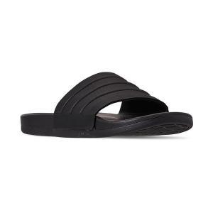 【当日出荷】 アディダス メンズ Men's Adilette Comfort Slide Sandals from Finish Line Core Black 【サイズ 27.5cm】|astyshop