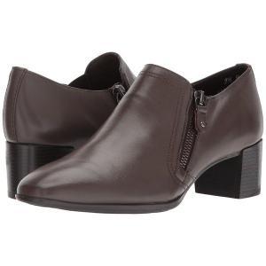 【当日出荷】 ムンロー レディース Annee Brown Leather    【サイズ 7.5×SS】|astyshop