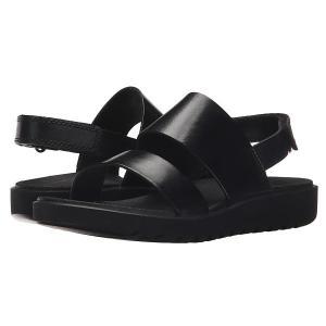 エコー サンダル シューズ レディース Freja 2 Strap Sandal ブラック【サイズ 9-9.5】|astyshop