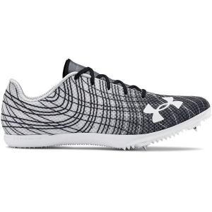 【当日出荷】 アンダーアーマー メンズ Under Armour Adult Kick Distance 3 Track and Field Shoes Gray/Gray 【サイズ 27cm】|astyshop