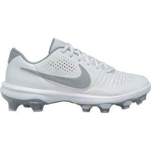 【当日出荷】 ナイキ メンズ 野球 Nike Men's Alpha Huarache 3 Varsity Low MCS Baseball Cleats White/Grey 【サイズ 28cm】|astyshop