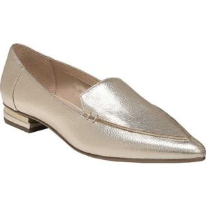 【当日出荷】 フランコサルト レディース Starland Pointed Toe Loafer Gold Metallic Leather 【サイズ 23cm】|astyshop