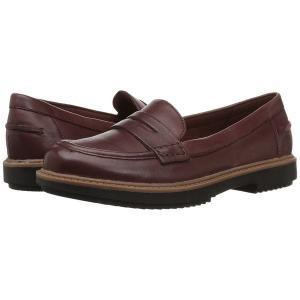 【当日出荷】 クラークス レディース Raisie Eletta Mahogany Leather  【サイズ US7-Wide】|astyshop